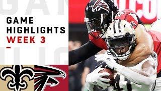 Saints vs. Falcons Week 3 Highlights | NFL 2018