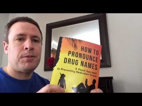 AUDIOBOOK GIVEAWAY How to Pronounce Drug Names Audible Pharmacology Audiobook