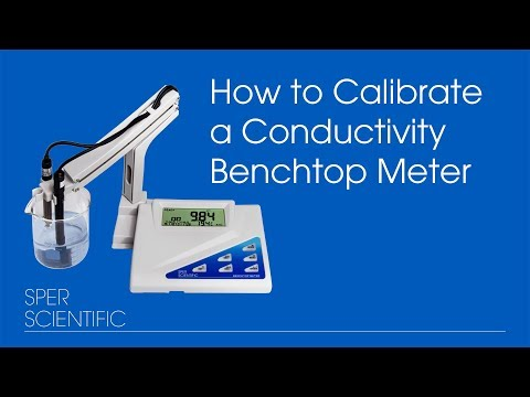 How to Calibrate a Conductivity Bench Top Meter
