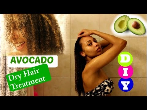 DIY Avocado Hair Mask for Dry, Brittle Hair!