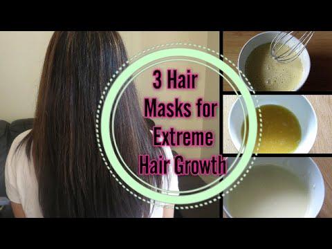 DIY : Hair Masks for Extreme hair growth