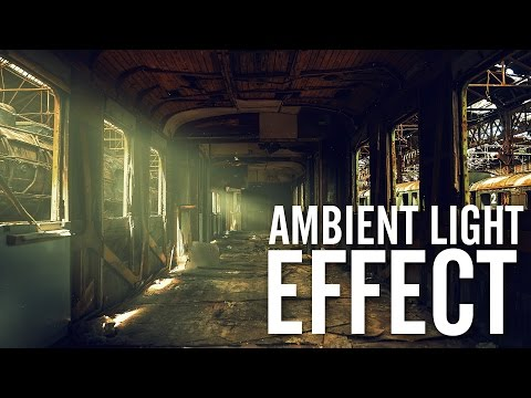 Ambient Light and Beams of light in Photoshop CC