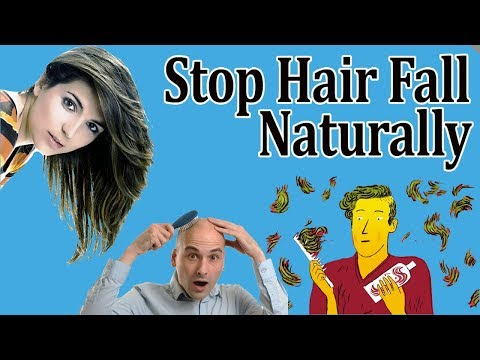 Stop Hair Fall With These Ingredients - Get Rid Of Hair Fall Naturally