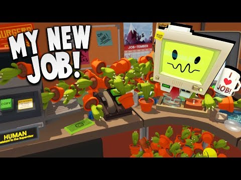 I CLONED HUNDREDS OF CACTUS AT MY NEW JOB! | Job Simulator (HTC Vive VR Gameplay)