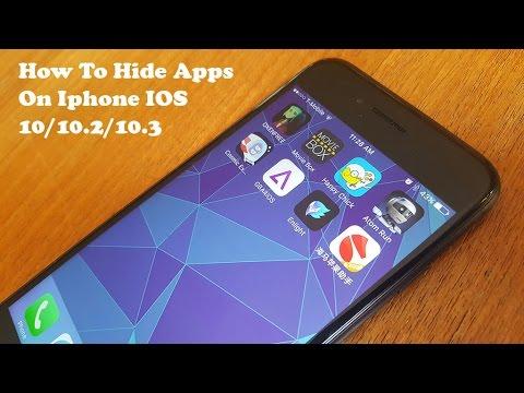 How To Hide Apps On Iphone IOS 10/10.2/10.3 - Fliptroniks.com
