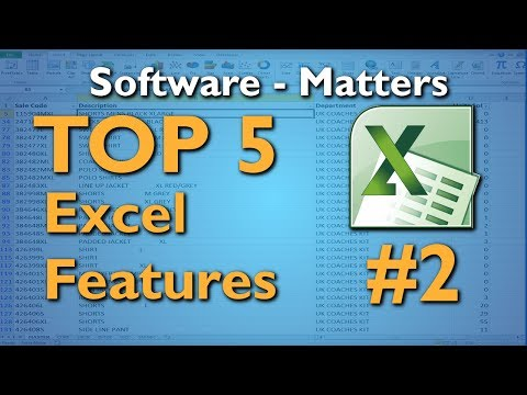 Using SUMIF in Excel - Top 5 Excel Features #2
