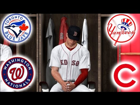 REQUESTING A TRADE FROM THE RED SOX! MLB THE SHOW 17 ROAD TO THE SHOW