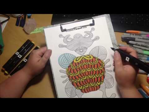 Color A Weirdie A Day 0606 2018 speedversion