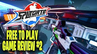 Splitgate Arena Warfare! It's Super Sweaty! Free To Play Game Review #2