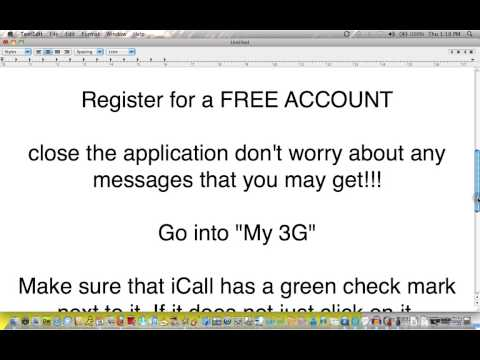 How to make free calls from your iPhone 3GS