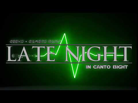 G+G Late Night In Canto Bight Podcast Logo [After Effects] [Element 3D]