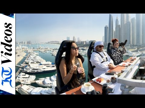 'Dinner In The Sky' Comes To DUBAI
