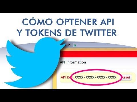 Cómo conseguir las claves API y TOKEN de Twitter para conectar con tu cuenta