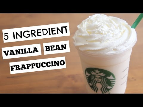 Vanilla Bean Frappuccino | SweetTreats