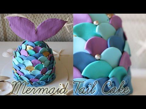 Mermaid Tail Cake!