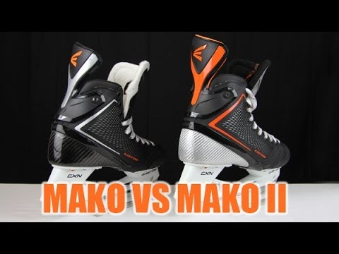 Original Easton Mako Skates vs Mako II Hockey Skates Review - Compared