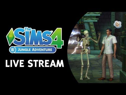 The Sims 4 Jungle Adventure Live Stream (February 23rd, 2018)