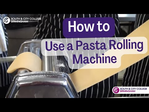 How to use a pasta rolling machine