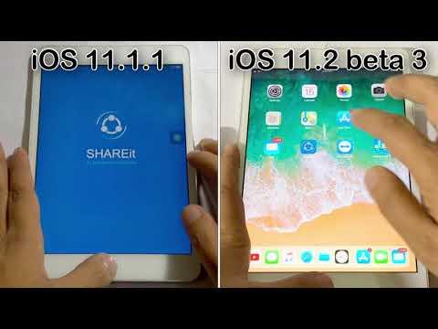 iOS 11.1.1 vs iOS 11.2 beta 3 speed test on iPad mini 2 | Geekbench test