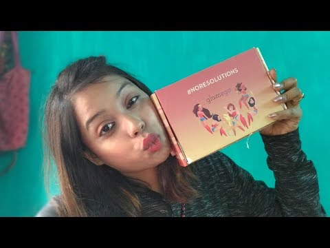 Glamego Box _ January 2108 I Luxury Brands,Organic products  Unboxing + Review