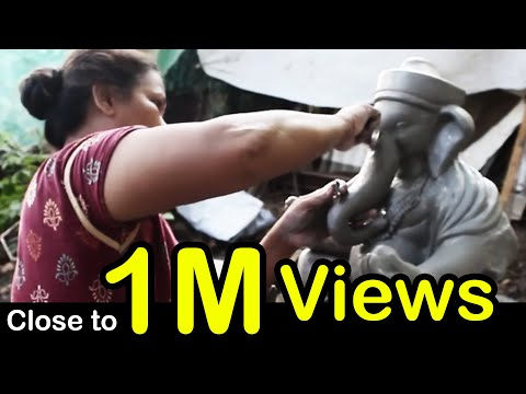 Making Ganpati 2017 |  Murti Making (Full Video) | How to make Ganesh Idol at Home Exclusive By KVF