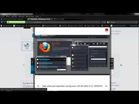 How to Change and Set Themes on mozilla Firefox