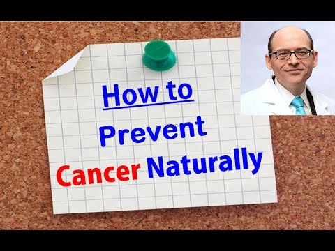 Dr.Michael Greger : How To Prevent Cancer Naturally ?