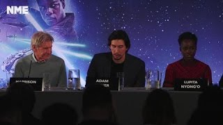 Star Wars The Force Awakens London Press Conference: Adam & Gwendoline Discuss Their Costumes