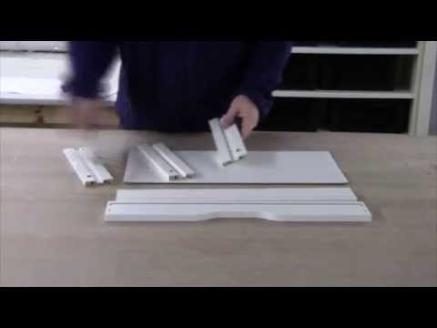 Assembling the IKEA EKBY ALEX Shelf with Drawers