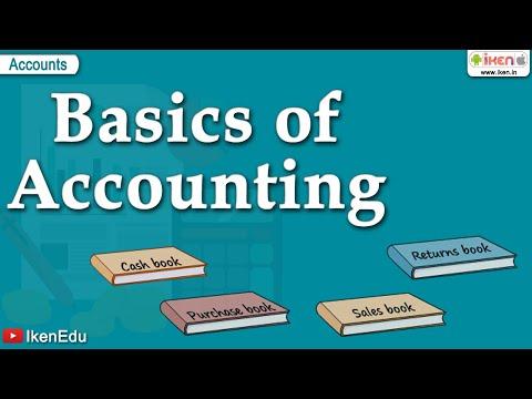 Accounting Basics | Learn the Account Fundamentals