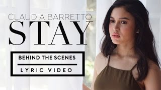 Claudia Barretto - STAY ( BTS with Lyrics )