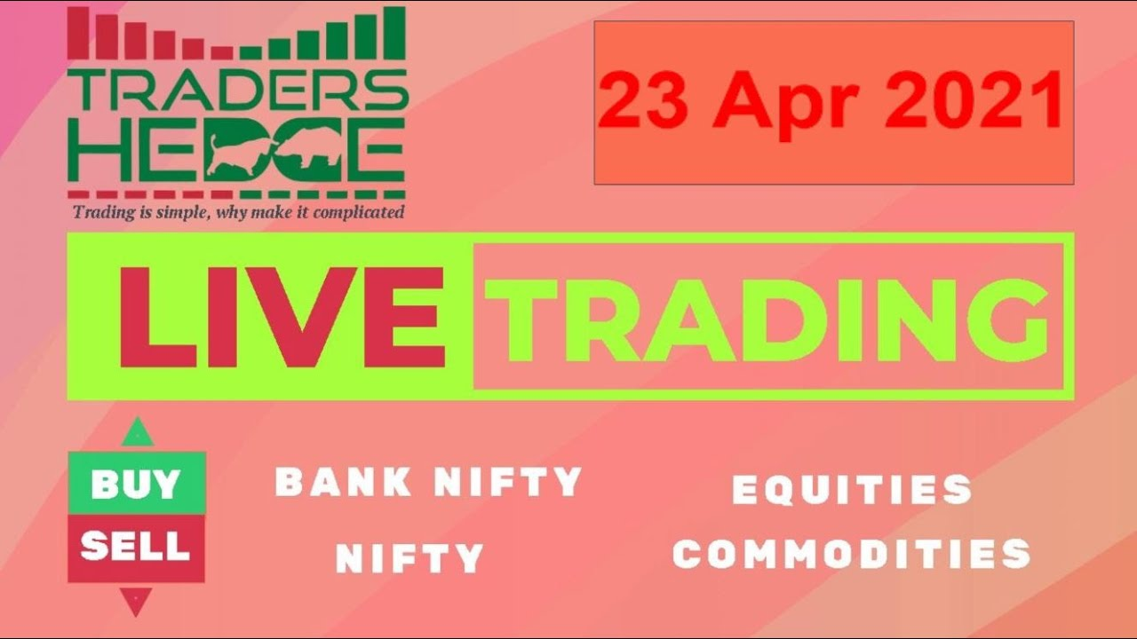 23 APR Bank Nifty & Nifty #LiveTrading #Nifty #BankNifty Live Analysis #priceaction #tradershedge