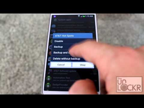 How to Remove Bloatware from the Samsung Galaxy S4