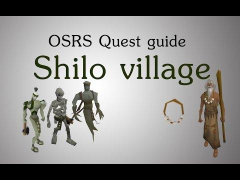 [OSRS] Shilo village quest guide
