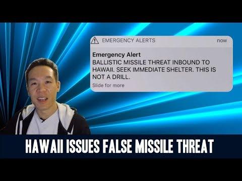 Nukem384 News: Hawaii Issues False Missile Threat Notification