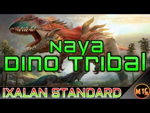 Naya Dinosaur Tribal in Ixalan Standard! Competitive Deck Tech!
