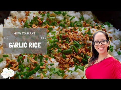 How To Make Garlic Rice (View in HD)
