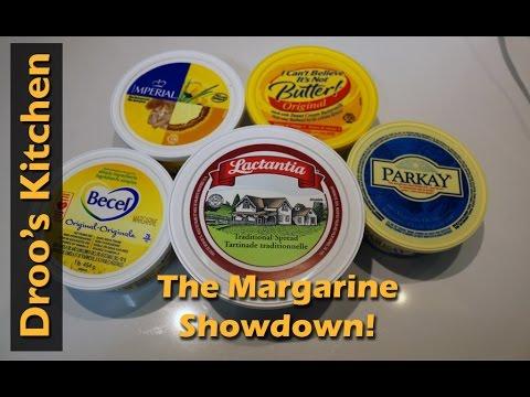 Margarine Showdown - Taste Test - Becel, Parkay, Imperial