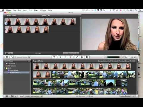 Using iMovie to Convert to AVI