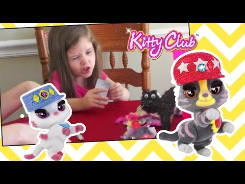 Toy Time: Kennedy opens Kitty Club blind bags