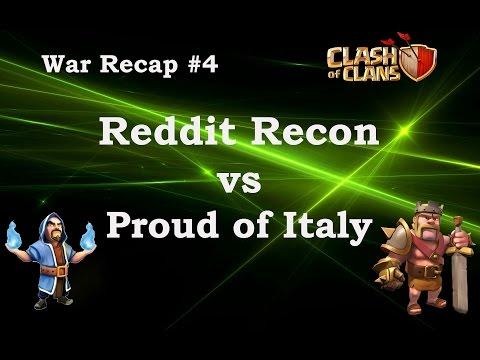 Reddit Recon vs Proud of Italy War Recap #4