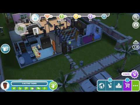 Sims Freeplay - Max Out a Sim's Bladder - Weekly Task