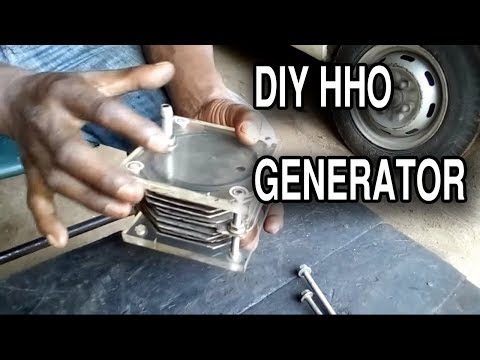 HHO Generator - Water to Fuel Converter | Dry cell | hydrogen gas | Tutorial