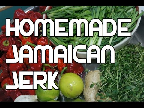 Jamaican Jerk Recipe - BBQ Marinade Wet Version