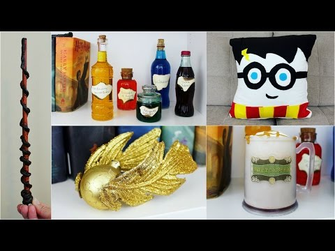 5 CHEAP AND EASY HARRY POTTER DIY CRAFTS | PINTEREST INSPIRED