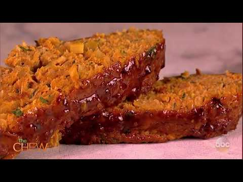 Michael's Soy and Mustard-Glazed  Sugar Free Turkey Meatloaf   The Chew