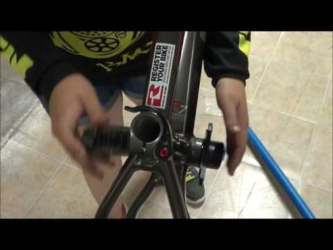 How to install your Redline Flight Cranks