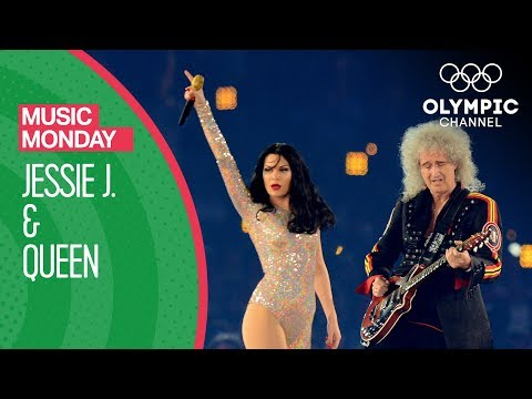 Jessie J and Queen London 2012 Performance | Music Monday
