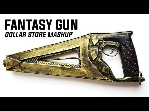 How To Build A Custom Sci-Fi Gun: EVA Foam / Dollar Store Mash Up