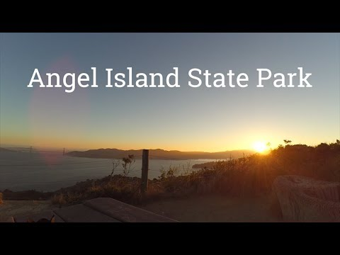 Angel Island State Park Backpacking and Solo Overnight Camping